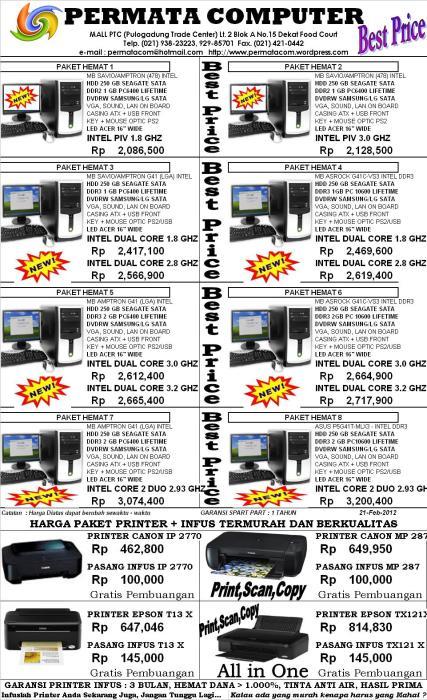 Brosur Computer 21 Feb 2012